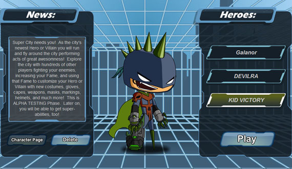 Design Your Character And Play : Hero smash design notes