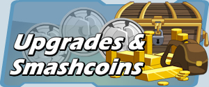 HeroSmash Upgradees and Coins